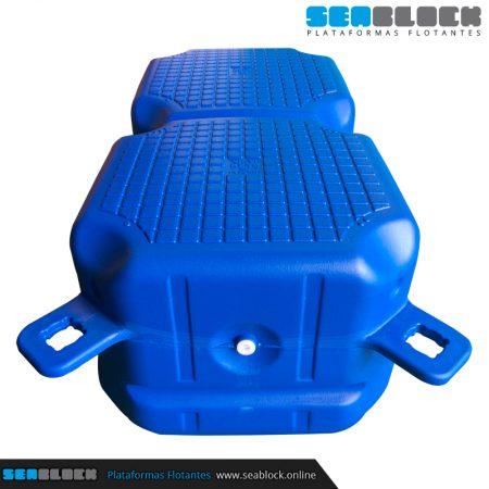 Cubito doble 1000x500x400 mm | Tienda Plataformas flotantes