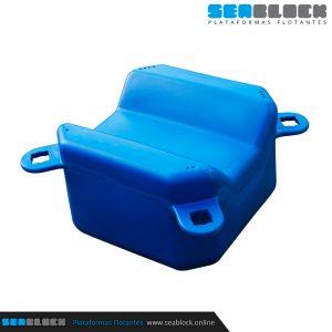 Cubito en V 500x500x345 | Tienda Plataformas flotantes