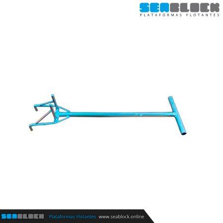 Doble Girapins para cubito en V 740x275x50 mm | Tienda Plataformas flotantes
