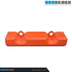 Defensa para cubito (Polipropileno) 1000x500x345 mm   Tienda Plataformas flotantes